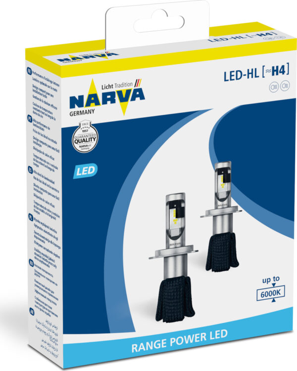 Narva H4 Range Power Led 12V