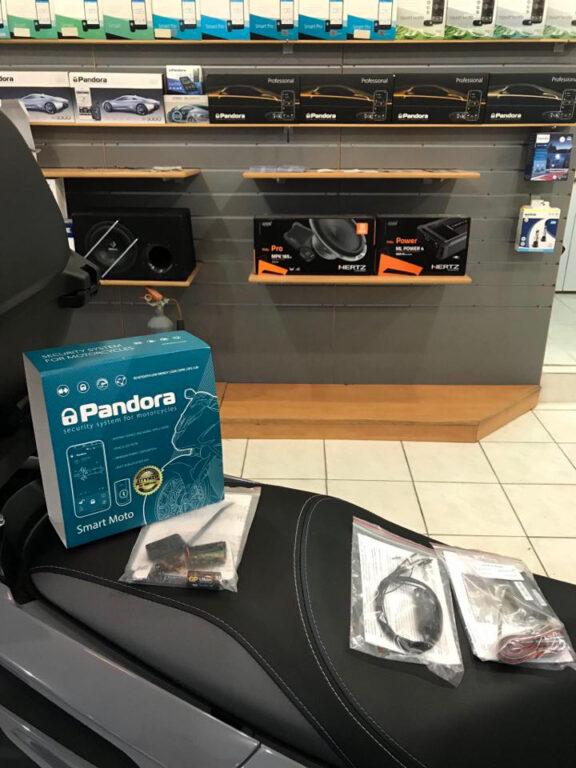 συναγερμος pandora smart moto τοποθετηση